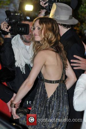 Vanessa Paradis 'Stony Faced' In L.a. After Split Rumors