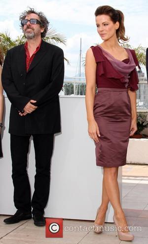Tim Burton and Kate Beckinsale