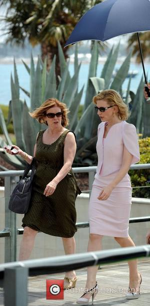 Actress Cate Blanchett and Cate Blanchett
