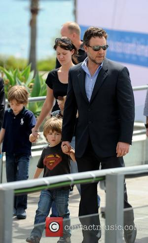 Russell Crowe and Son Tennyson Crowe