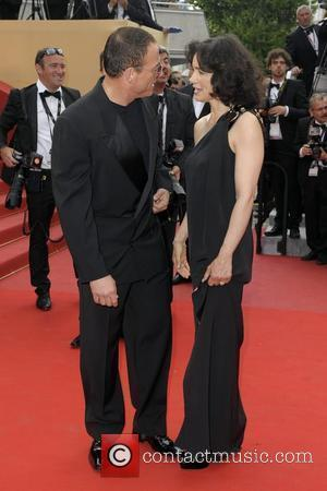 Jean Claude Van Damme and his wife Gladys Portugues 2010 Cannes International Film Festival - Day 1 - 'Robin Hood'...