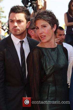 Dominic Cooper and Tamsin Greig