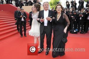 Claudia Cardinale; Alain Delon; Anouchka Delon