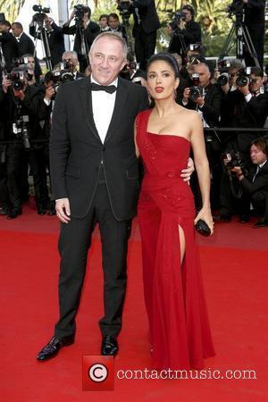 Salma Hayek and Husband Francois-henri Pinault