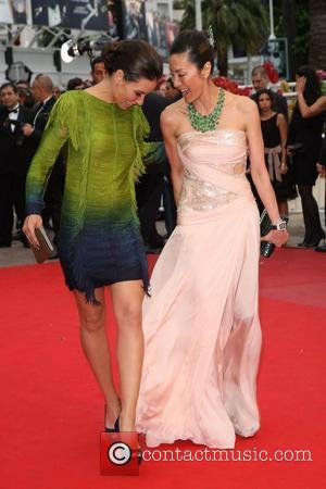 Michelle Yeoh and Evangeline Lily 2010 Cannes International Film Festival - Day 4 - 'You Will Meet a Tall Dark...