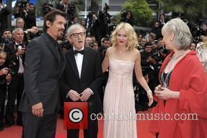 Josh Brolin, Naomi Watts and Woody Allen