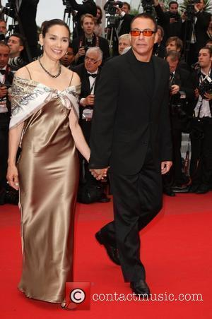 Jean Claude Van Damme and Gladys Portugues 2010 Cannes International Film Festival - Day 4 - 'You Will Meet a...