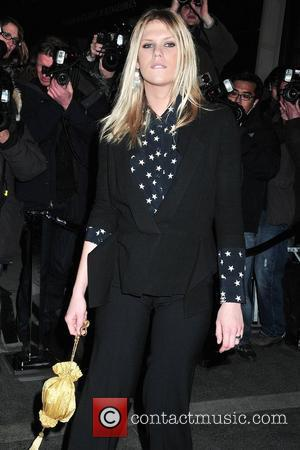 Alexandra Richards Chanel Rouge Coco Dinner at The Mark Hotel - Outside Arrivals New York City, USA - 09.02.10