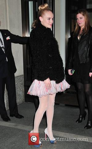 Kate Bosworth Chanel Rouge Coco Dinner at The Mark Hotel - Outside Arrivals New York City, USA - 09.02.10
