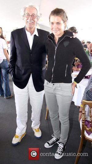 Charlotte Casiraghi and Jean Rochefort
