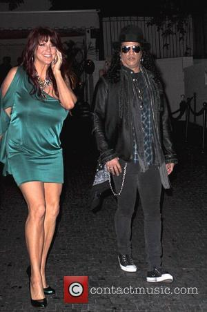 Slash and Perla Hudson