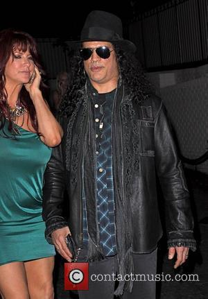 Slash Perla Hudson and Slash