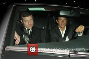 Dermot O'leary and Bear Grylls