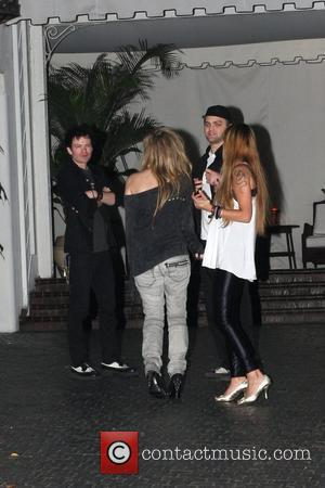 Avril Lavigne and her ex-husband Deryck Whibley