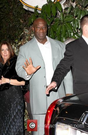 Michael Clarke Duncan leaving a private party at Chateau Marmont Los Angeles, California - 16.01.10