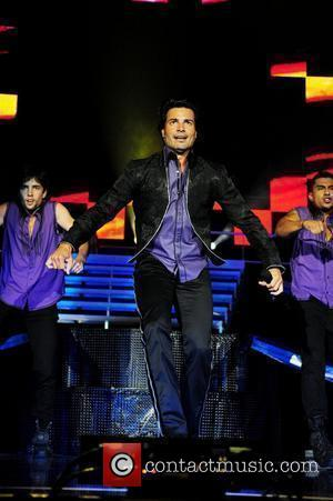 Chayanne performs live at the American Airlines Arena Miami, Florida - 04.06.10