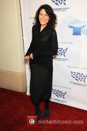 Lisa Edelstein Nigel Barker, celebrity chef Cat Cora and The Humane Society of the United States host Chefs for Seals...