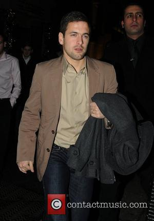 Joe Cole leaving Whisky Mist after the Chelsea Football Club night out London, England - 20.12.09