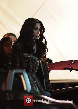 Cher on the set of her new movie 'Burlesque' Los Angeles, California - 08.01.10