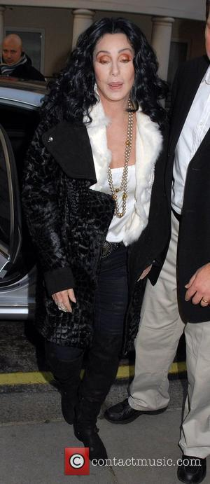 Cher arrives at her hotel London, England - 13.12.10