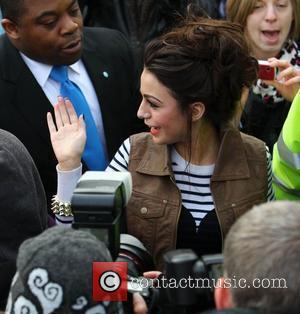The X Factor finalist Cher Lloyd visits her old school, Somers Park in Malvern  Malvern, Worcestershire - 07.12.10