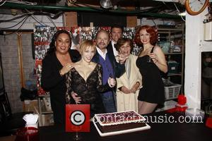Roz Ryan, Charlotte d'Amboise, Barry Weissler,Brent Barrett, Fran Weissler and Leigh Zimmerman 'Chicago at 14', celebrating the 14th Year of...