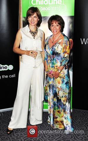 Fiona Bruce and Esther Rantzen