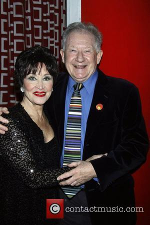 Chita Rivera and Harvey Evans Opening night of 'Chita Rivera In Concert' at the Birdland Jazz Club - Backstage New...