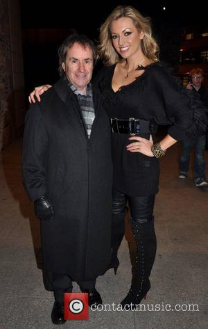 Chris de Burgh and daughter Rosanna Davison  attend a Science Gallery exhibition probing the 'Science of Desire' at the...