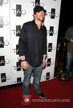 Michael Phelps Chris Mintz-Plasse celebrates his 21st birthday at Tao club in the Venetian Resort Hotel and Casino Las Vegas,...