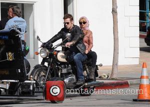 Christina Aguilera and Cam Gigandet