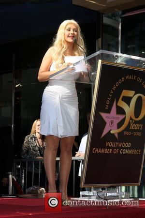 Christina Aguilera receives a star on The Hollywood Walk Of Fame Los Angeles, California - 15.11.10