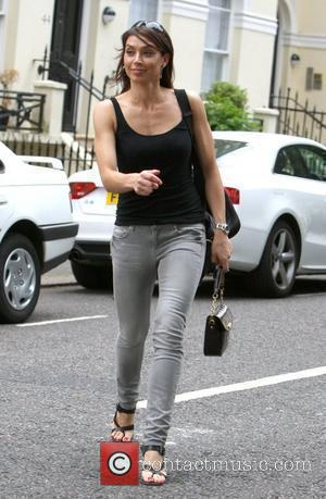 Christine Bleakley arrives home after reportedley recently signing a multimillion-pound deal with ITV  London, England - 07.06.10