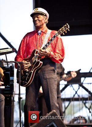 Chuck Berry (aged 84) performs during the Las Vegas Rockabilly Weekend at the Orleans Hotel Las Vegas, Nevada - 03.04.10