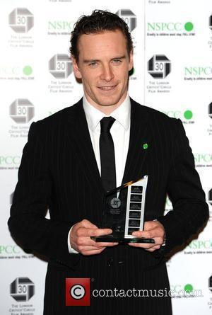 Michael Fassbender The London Critics' Circle Film Awards at the Landmark Hotel - Press Room London, England - 18.02.10