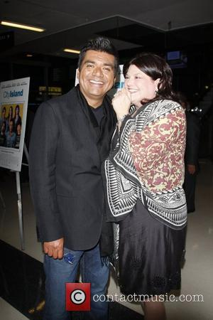George Lopez Anne and George Lopez