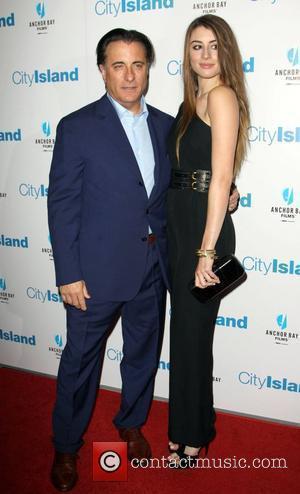 Andy Garcia and Dominik Garcia-Lorido attends the LA movie premiere of 'City Island', held at the Landmark Theatre Los Angeles,...