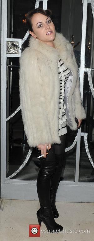 Jaime Winstone leaving the Dior private dinner, held at Claridges Hotel. London, England - 25.11.10