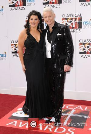 Jodie Prenger and Rhydian Roberts The Classical Brit Awards 2010 at the Royal Albert Hall. London, England - 13.05.10
