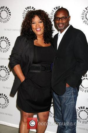 Kym Whitley and Rodney Van Johnson The Cleveland Show DVD release party & Panel DIscussion at Paley Center for Media...