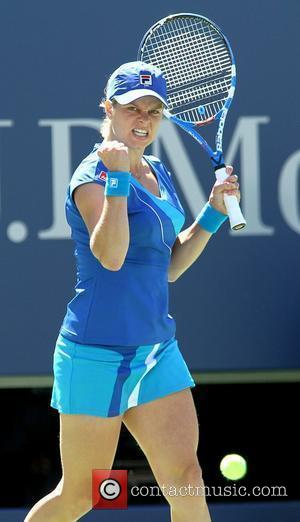 Kim Clijster defeats Ana Ivanovic 6-2, 6-1, during her women's singles match on day seven of the 2010 U.S. Open...