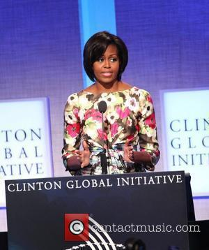 First Lady Michelle Obama of the United States Clinton Global Initiative 2010 held at the Sheraton Hotel - Closing Session...