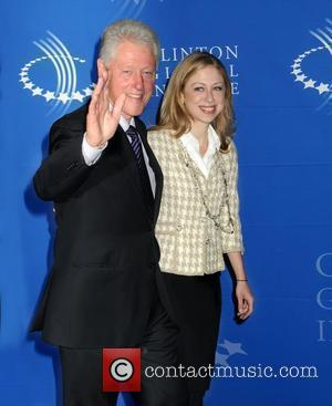 Bill Clinton and daughter Chelsea Clinton The Clinton Global Initiative 2010 reception held at MOMA New York City, USA -...
