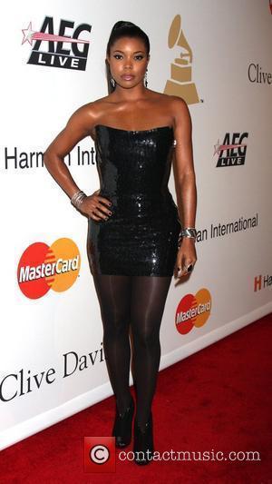 Gabrielle Union and Clive Davis