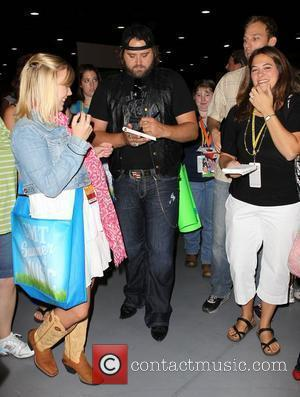 Randy Houser Meet and greet and autograph session at the 2010 CMA Music Festival held at The Convention Center Nashville...