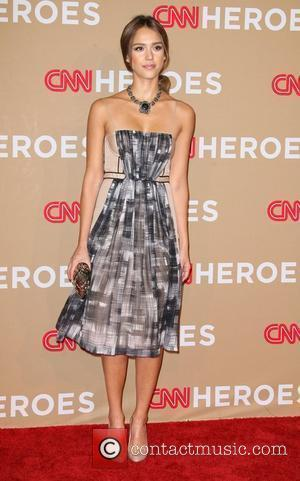 Jessica Alba and CNN