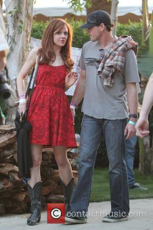 Chris Klein with a friend at the 2010 Coachella Valley Music and Arts Festival - Day 1 Indio, California -...