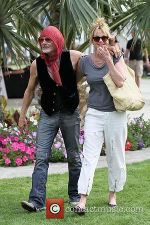 Melanie Griffith and Michael Des Barres
