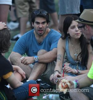 Eli Roth and Peaches Geldof