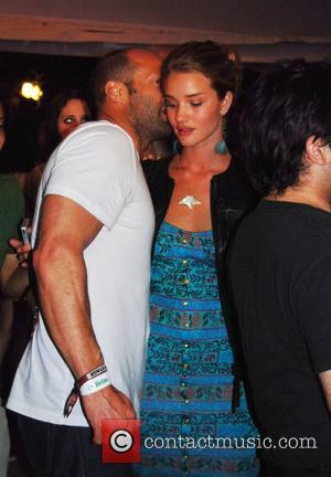 Jason Statham and Rosie Huntington-Whiteley at the 2010 Coachella Valley Music and Arts Festival - Day 3 Indio, California -...